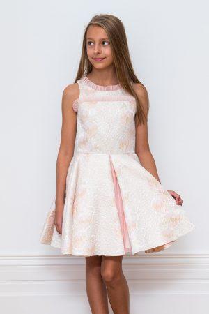 Candy Pink Ballerina Prom Dress