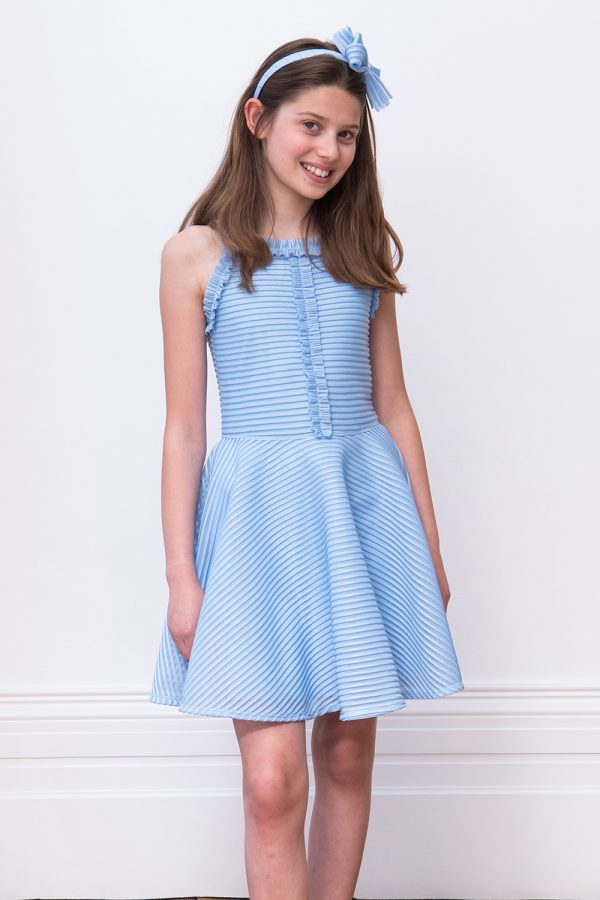 Powder Blue Formal Dress