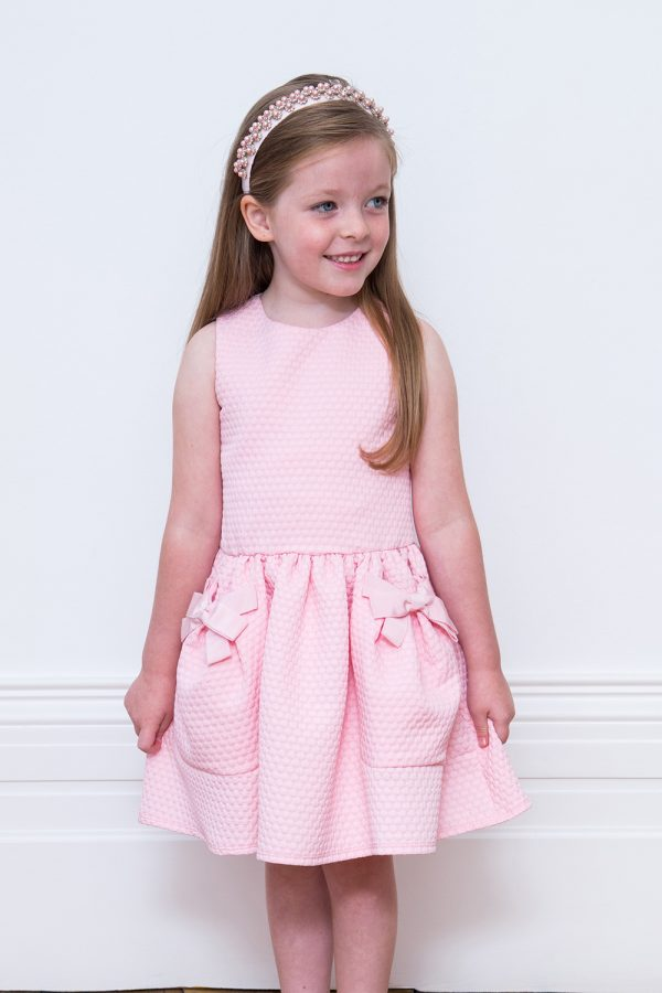Ballerina Pink Pocket Dress