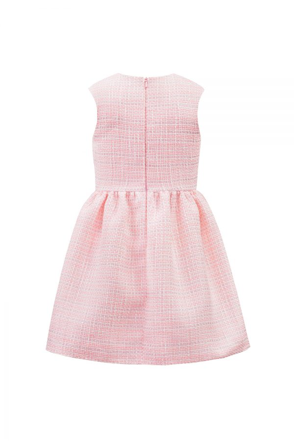 Pink Tweed Birthday Dress