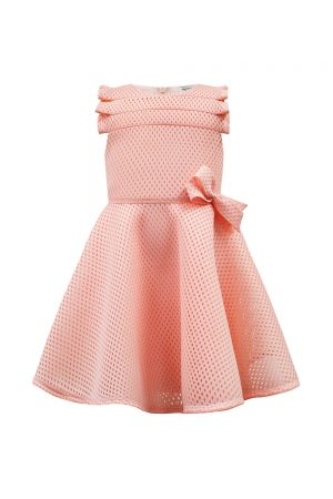 rose pink bow birthday dress