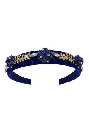 blue bouquet alice band