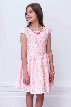 rose pink birthday dress