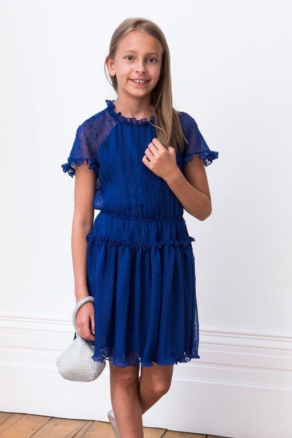 royal blue summer dress