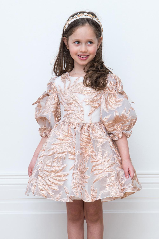 28063c3c3f9a Pearl Pink Plesové šaty - David Charles Dětské oblečení