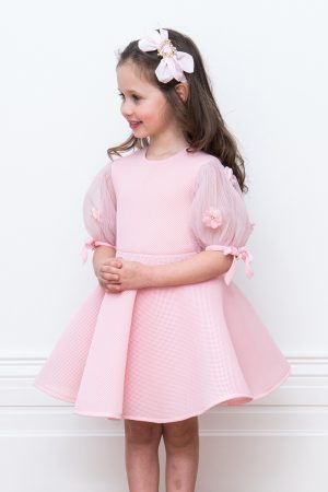 tea rose pink birthday gown
