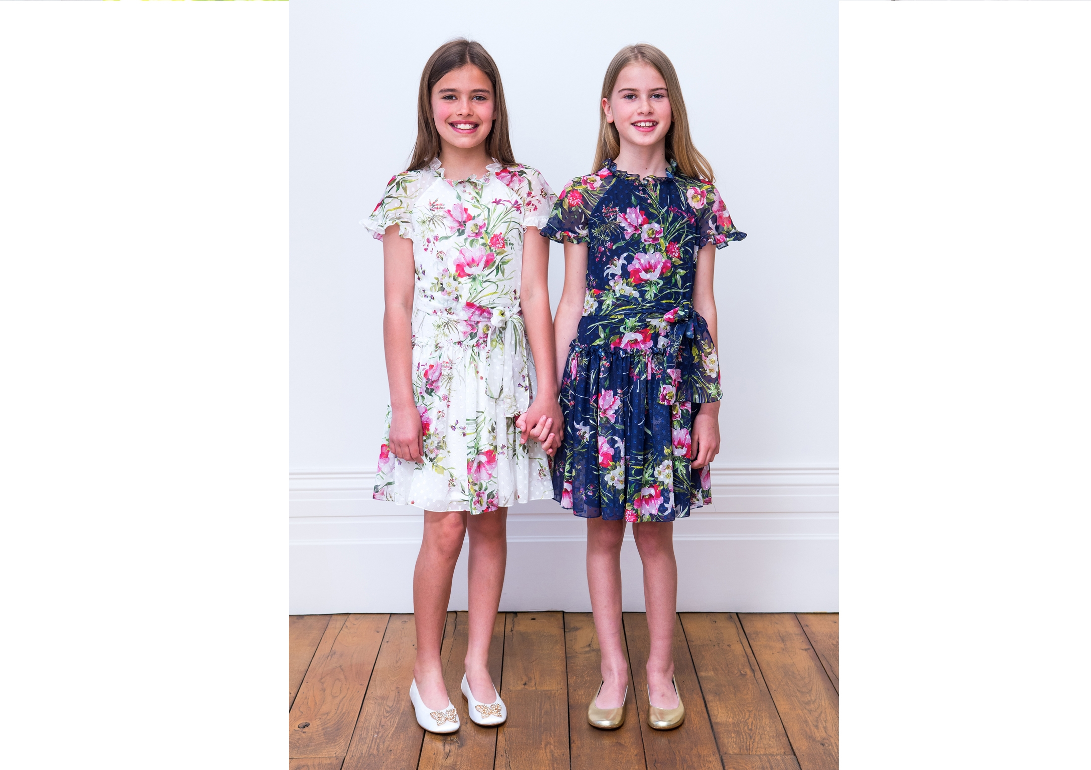 Girls tea dresses