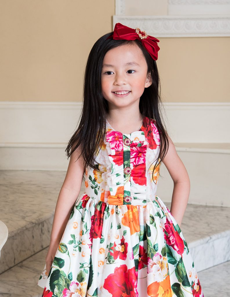 Summer holiday girls dresses