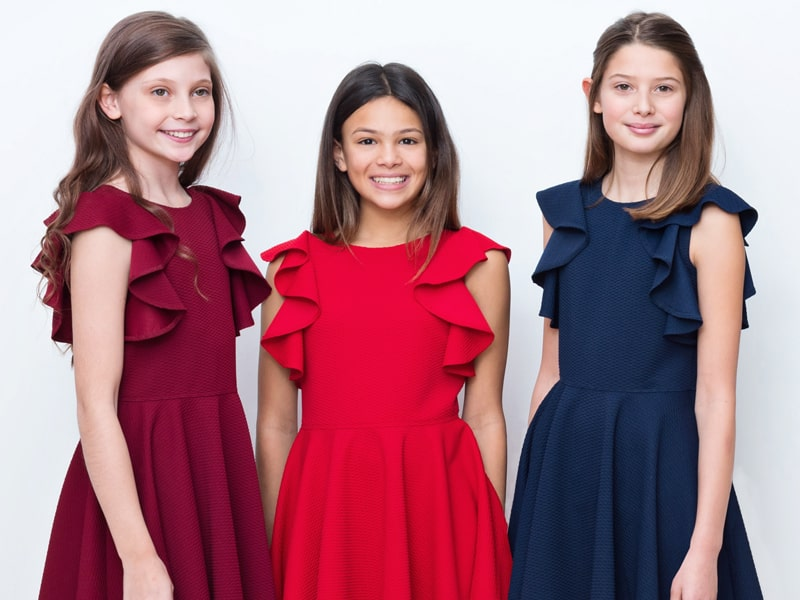 Can You Wear Red To A Wedding.Iconic Brand For Girls Occasion Dresses David Charles Childrenswear