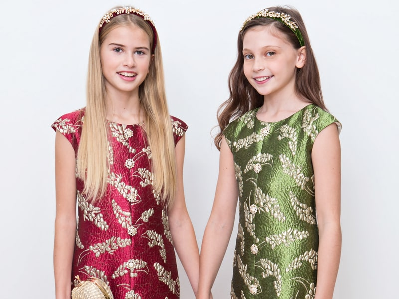 Iconic Brand For Girls Occasion Dresses David Charles Childrenswear