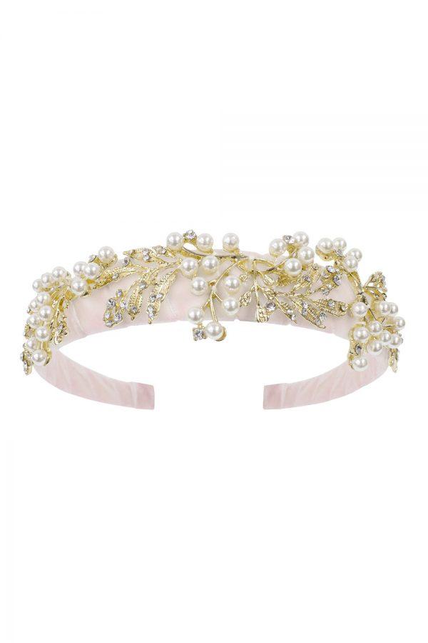 pink sugar plum hair band