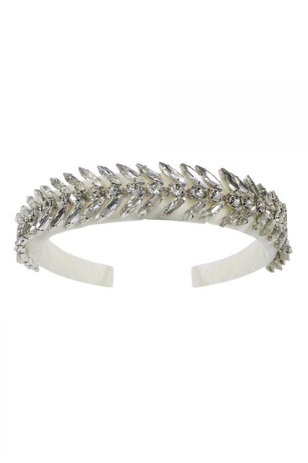 ivory sparkle hair band
