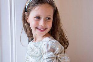 david charles flower girl dress