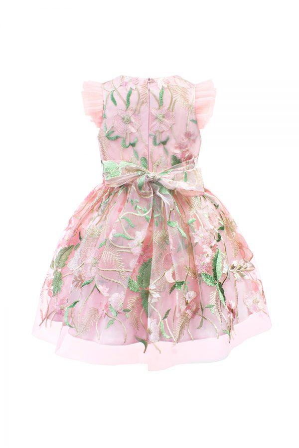 petal pink fairytale gown