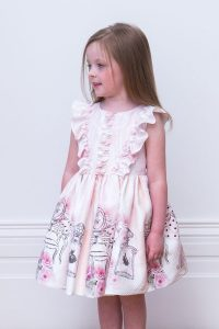 Pink Floral Perfume Gown