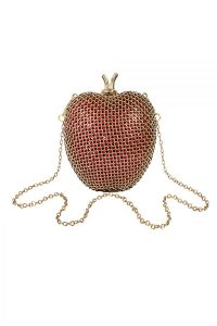 Red Apple Clutch Bag