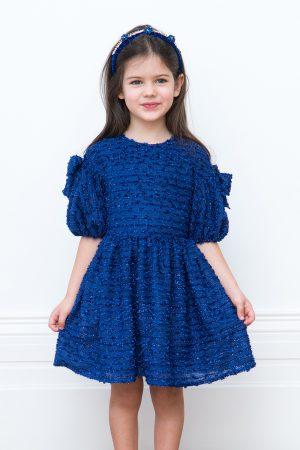 royal blue sparkle gown