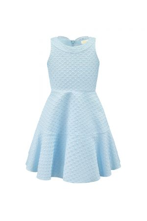pearl blue day dress