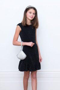 Ruffle Little Black Dress