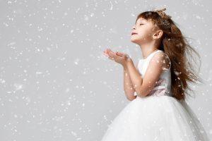 kids winter party dresses