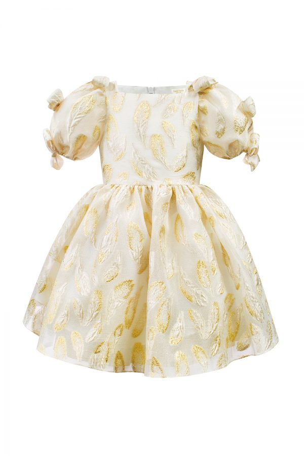 ivory organza dress