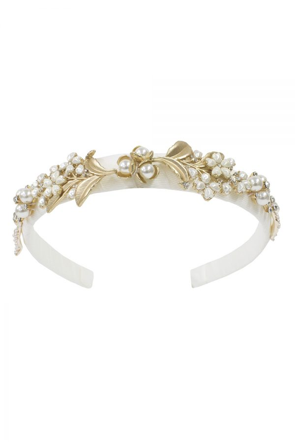 ivory pearl Alice band