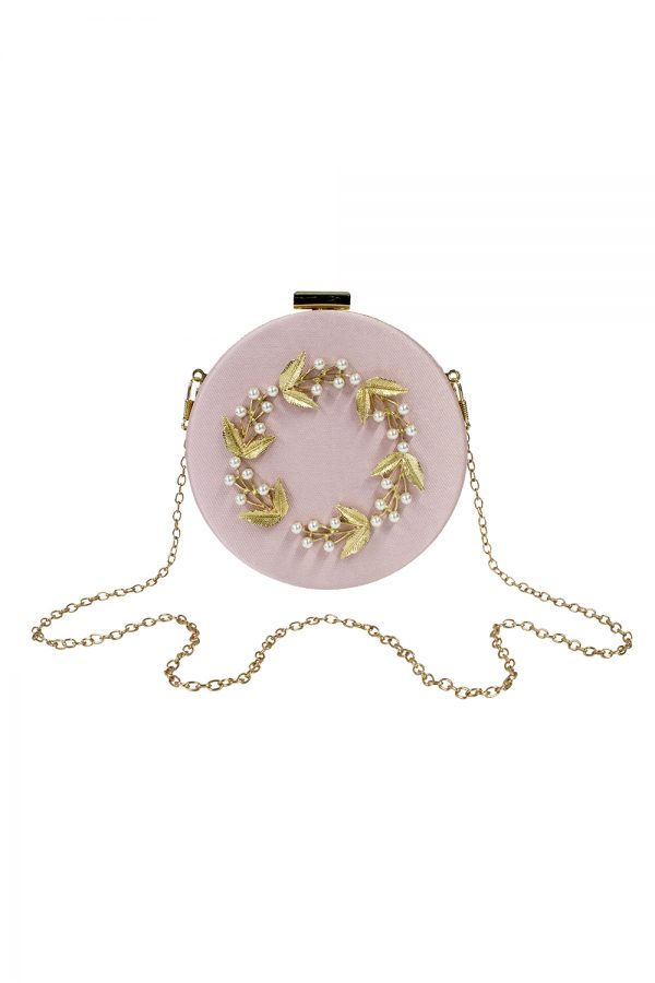 pink pearl baroque bag
