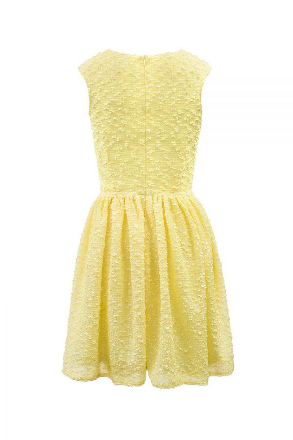 daffodil yellow fashion dress