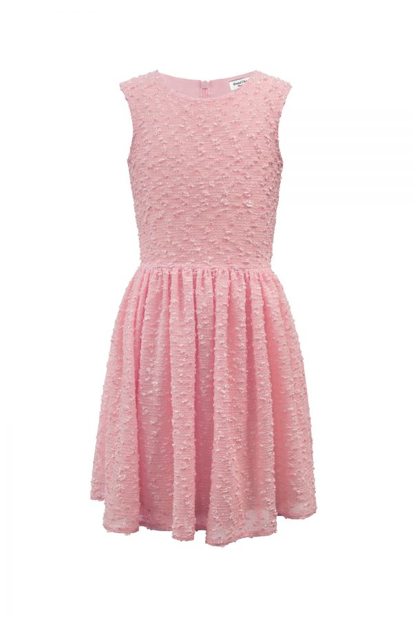 candy pink birthday dress
