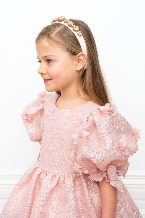 pink Cinderella ball gown