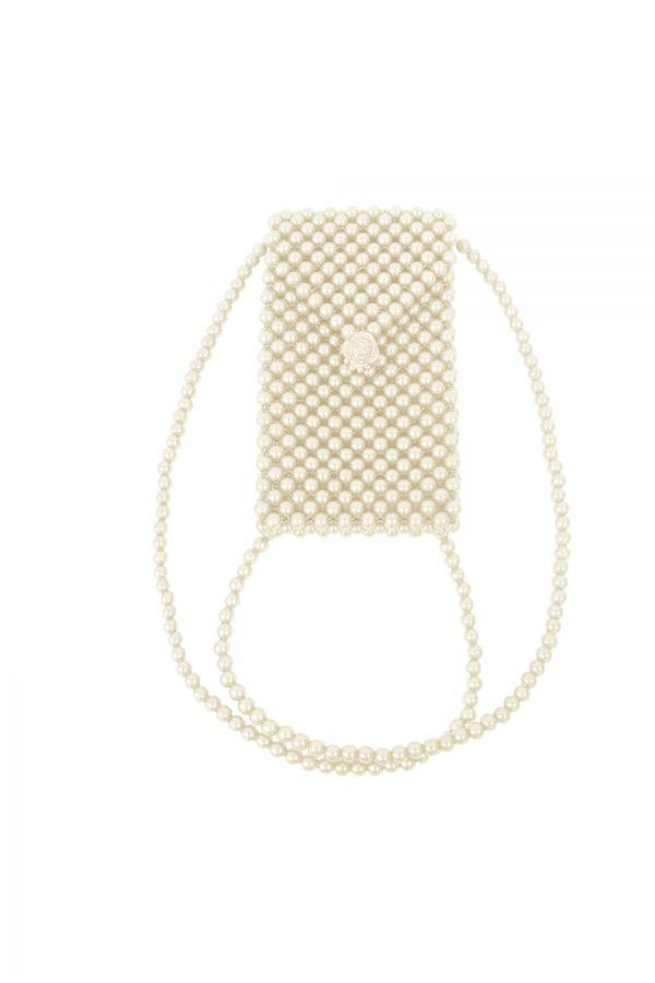 Ivory Pearl Luxury Bag