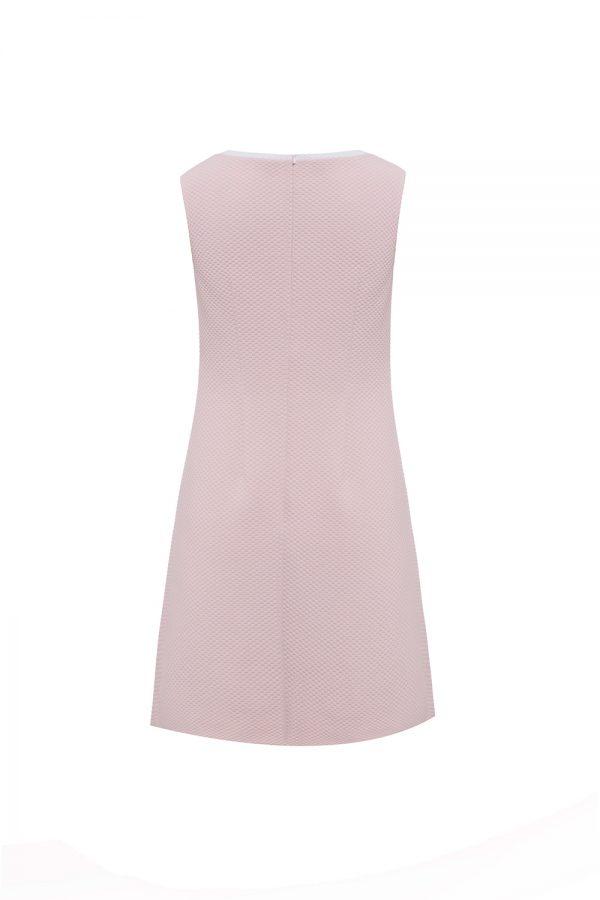 pastel pink flower dress