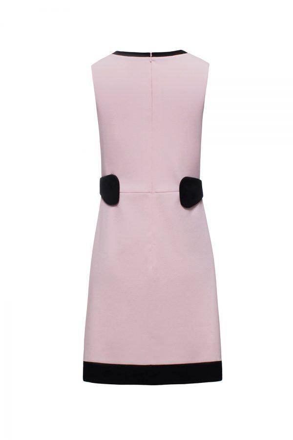 parfait pink and black dress