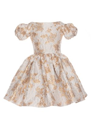 blue Cinderella prom gown