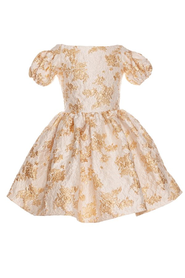 gold fairytale party gown